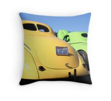 Willys Brothers Throw Pillow