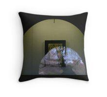 art window Melbourne Throw Pillow