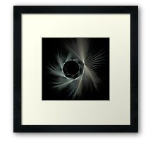 Spiraling Into The Night Framed Print