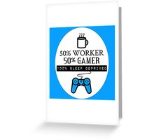 Gamer (Work Ver.) Greeting Card
