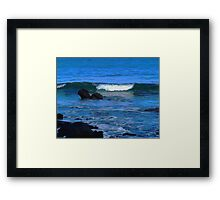 The Force of the Ocean Framed Print