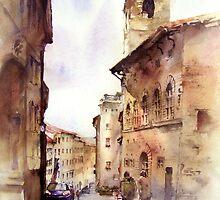 Italy oldtown Arezzo by zawij