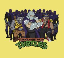 TMNT - Foot Soldiers 02 with Shredder, Bebop & Rocksteady - Teenage Mutant Ninja Turtles One Piece - Short Sleeve