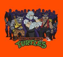 TMNT - Foot Soldiers 02 with Shredder, Bebop & Rocksteady - Teenage Mutant Ninja Turtles Kids Tee