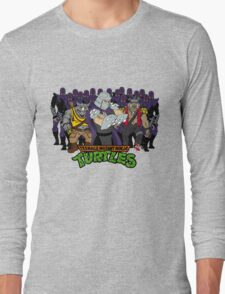 TMNT - Foot Soldiers 02 with Shredder, Bebop & Rocksteady - Teenage Mutant Ninja Turtles Long Sleeve T-Shirt