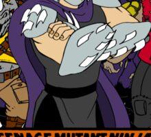 TMNT - Foot Soldiers 02 with Shredder, Bebop & Rocksteady - Teenage Mutant Ninja Turtles Sticker