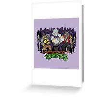TMNT - Foot Soldiers 02 with Shredder, Bebop & Rocksteady - Teenage Mutant Ninja Turtles Greeting Card