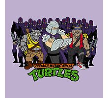 TMNT - Foot Soldiers 02 with Shredder, Bebop & Rocksteady - Teenage Mutant Ninja Turtles Photographic Print