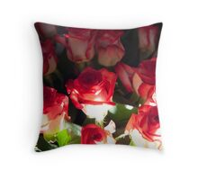 Glowing from below Throw Pillow