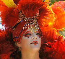 Summer Solstice Performer, Santa Barbara by Eyal Nahmias