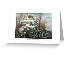 Battle of Lookout Mountain -- Civil War Greeting Card