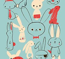 Bunnies by jayfleck