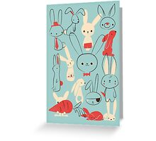 Bunnies Greeting Card