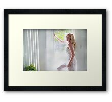When I Can't Breathe Framed Print