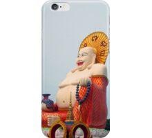 A BIG happy Deity iPhone Case/Skin