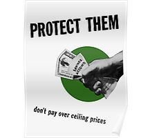 Don't Pay Over Ceiling Prices -- WW2 Poster