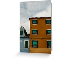 Colour in Burano Greeting Card