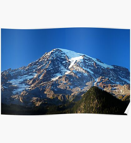 Blue Rainier Poster