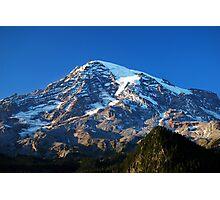 Blue Rainier Photographic Print
