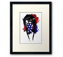 Amy Flag Design Framed Print