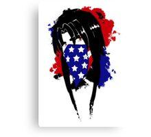 Amy Flag Design Canvas Print