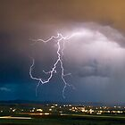 Lightning blue by Terrell Bird