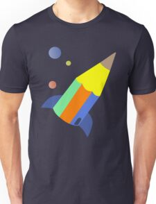 pencil rocket Unisex T-Shirt