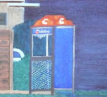 Phone Booth by Joan Wild