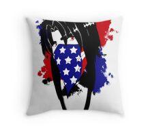 Amy Flag Design Throw Pillow