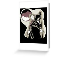 Blood Maidens Greeting Card