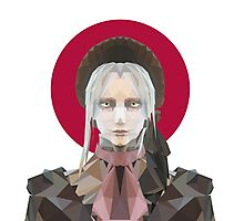 POLYGON PLAIN DOLL Photographic Print