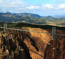 Royal Gorge Bridge 4 by Carl M. Moore