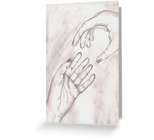 Forgive Me, Let Me Go Greeting Card