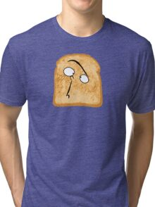 I Like Buttered Toast Tri-blend T-Shirt