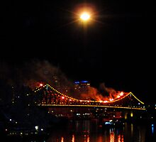 Dump & Burn Story Bridge by TraceJ