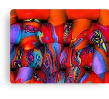 Abstract Weave Canvas Print