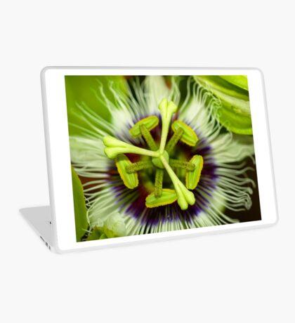 Passion Flower Laptop Skin