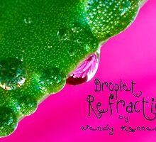 Droplet Refractions Collection by Wendy Kennedy