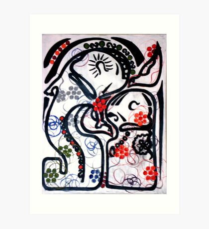 manchild Art Print