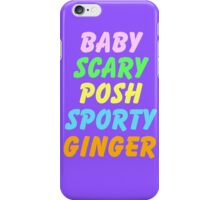 SPICE GIRLS iPhone Case/Skin