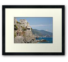 Monterosso al mare, Cinque Terre, Italy Framed Print