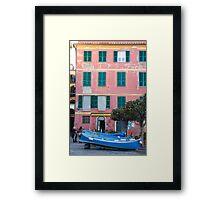 Vernazza, Cinque Terre, Italy Framed Print