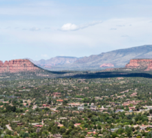 Sedona Panorama 1 Sticker