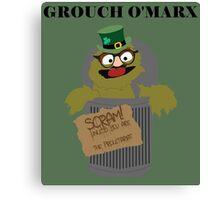 Grouch O'Marx Canvas Print