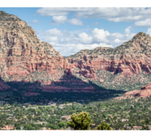 Sedona Panorama 2 Sticker