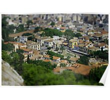 Athens - Tilt Shift Poster