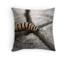On the way to Butterfly Throw Pillow
