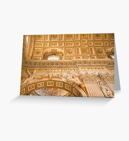 Vatican in Rome, Italy Greeting Card
