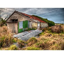 The Study of an old farm shed 2 - Experienced in HDR Photographic Print