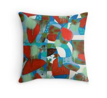 Tropical Bloody Hell Throw Pillow
